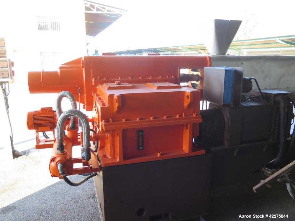 Used- ICMA San Giorgio Twin Screw Counter Rotating Extruder