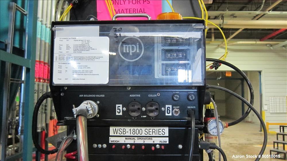 Used-Maguire 4 Componant Weigh Scale Blender, Model WSB1840T, SN B123099