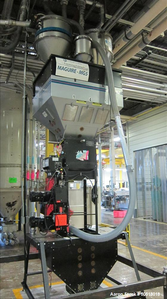 LOT# 304 - Used-Maguire 4 Componant Weigh Scale Blender, Model WSB1840T, SN B110474