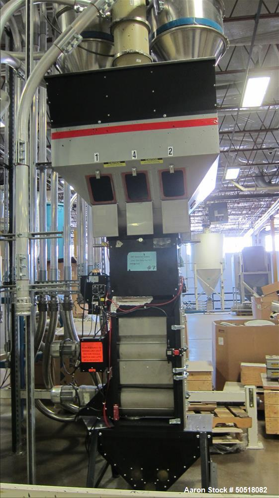 Used-Maguire 4 Component Weigh Scale Blender