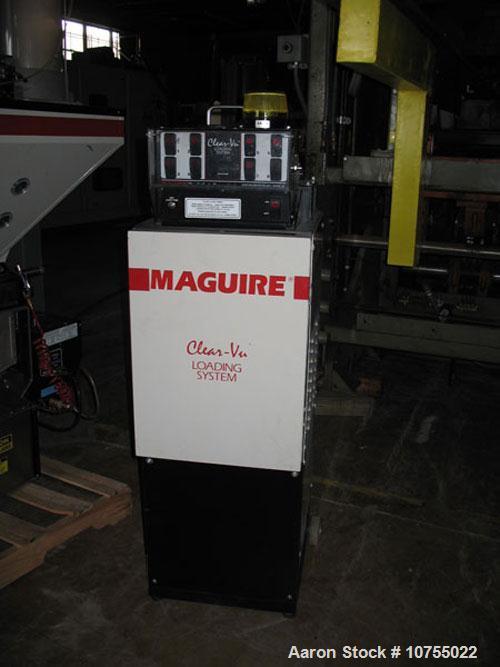 Used-Maguire Model WSB420 Weigh Scale Blender. 2 components, 1000-1200 lbs per hour capacity, 110 volt operation, 100 recipe...