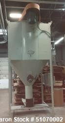"Used- Vertical Mixer, 71.5"" Diameter x 60"" Straight Side x 42"" Cone"