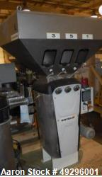 Used- Doteco 6 Component Gravimetric Blending System, Model Grado, Type Q60, Serial #00004904. Includes (6) receivers, opera...