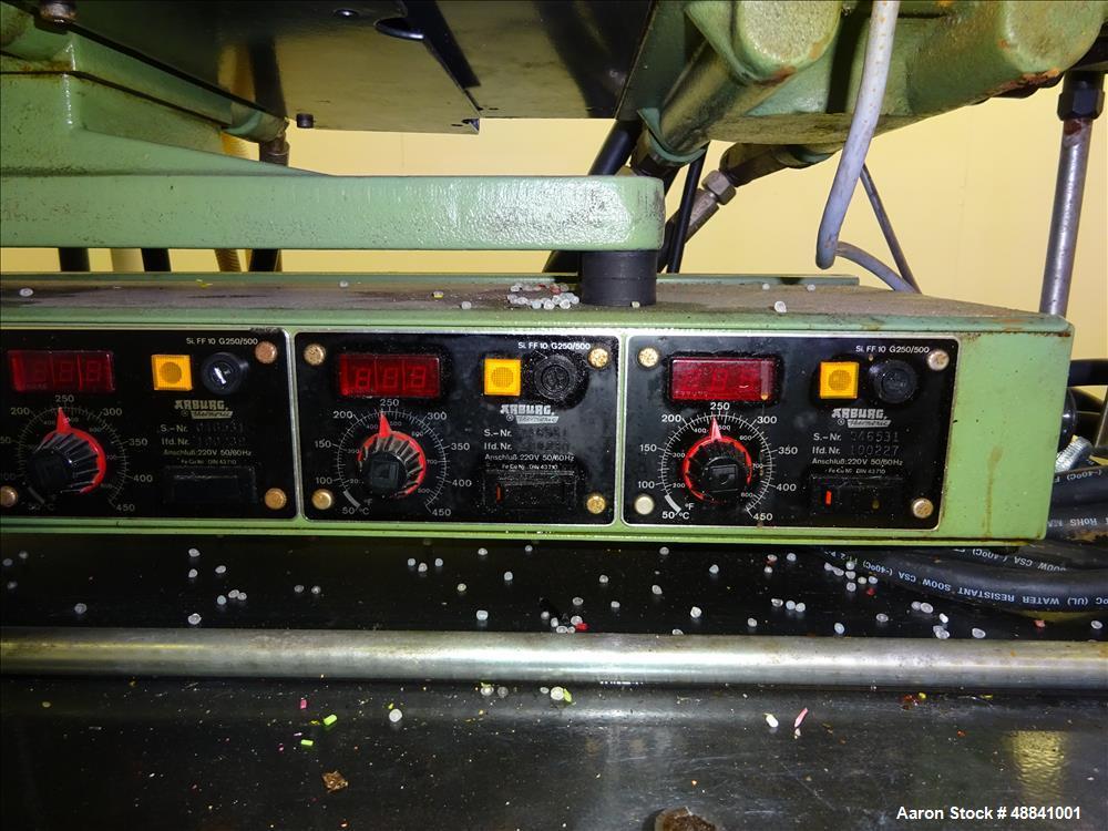 Used- Arburg Allrounder Injection Mold Machine, M
