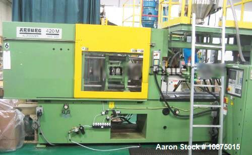 Used- Arburg 2 Shot Injection Molding Machine, 112-4.27 + .5