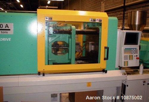 "Used-Arburg 176 ton, 8.2 oz, electric injection molding machine, model Allrounder 520A. Year 2007. Platen size 27.36"" x 27.3..."