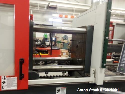 "Used - 2011 Cincinnati, Model EE175 175 Ton Electric Mold Machine. 9.7oz shot, tie bar spacing: 20.47"" x 20.47"". Platen size..."