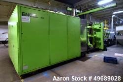 Used- Engel Horizontal Injection Molding Machine, 1500 Ton, Model ES 14000/1500HD. Approximate 264.04 ounce shot size, appro...