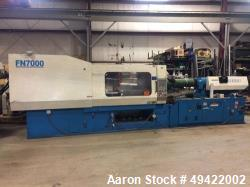 Used- Nissei 400 Ton Injection Molding Machine, Model FN7000-100A.