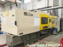 Used- Toshiba 390 Ton Ton Wide Platen Injection Molding Machine