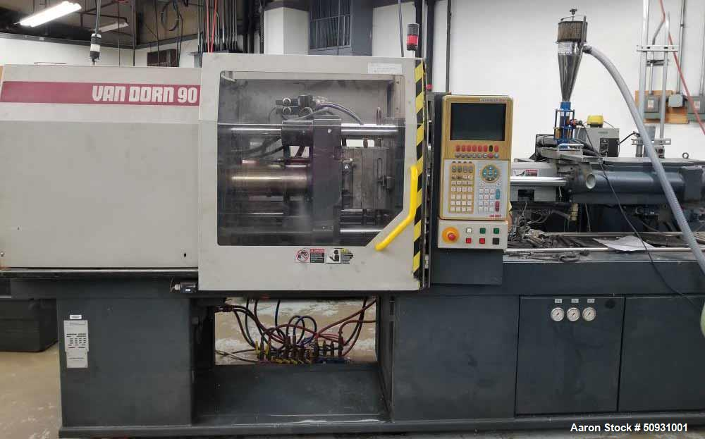 Used- Van Dorn Demag 90 Ton Compact Ergotech 800/420-200 Horizontal Injection Mo