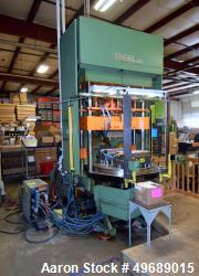 Used- Engel Rotary Vertical Injection Molding Machine, 80 Ton, Model ES 240/80VH. Approximate 3 ounce shot size. Includes an...