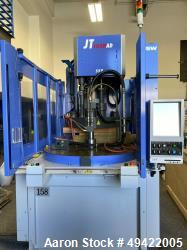 Used- JSW JT100RAD Plastic Machinery, Plastic Injection Molding, Vertical