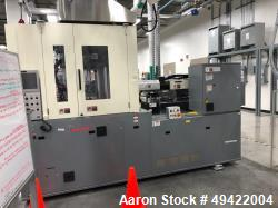 Used- Nissei Vertical Plastic Injection Molding Machine, Model TNX-75R-12-A