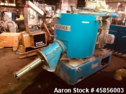 Used- Prodex Henschel Mixer Cooler Combination consisting of: (1) 500 liter Prodex Henschel high intensity mixer, model 115J...
