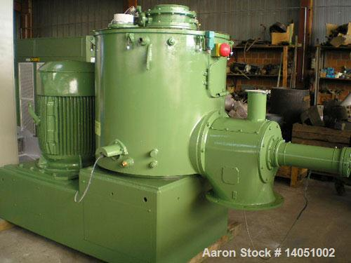 Used- Stainless Steel Diosna R600 A turbo mixer
