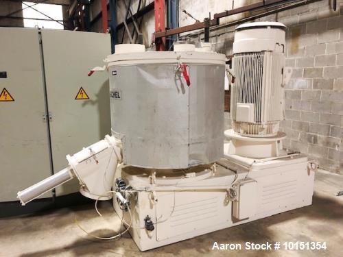 Used- Henschel Model FM1000 Stainless Steel High Intensity Mixer