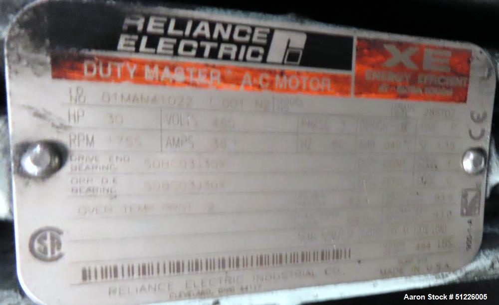 Used- Henschel FM 250 Liter High Intensity Mixer