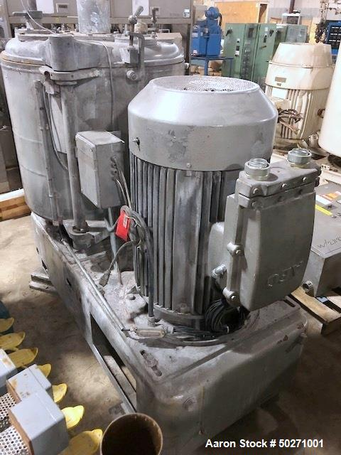Used- Henschel 500 Liter High Intensity Mixer, Model FM500F.