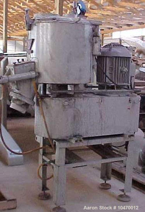 Used-Henschel 150 Liter High Intensity Mixer