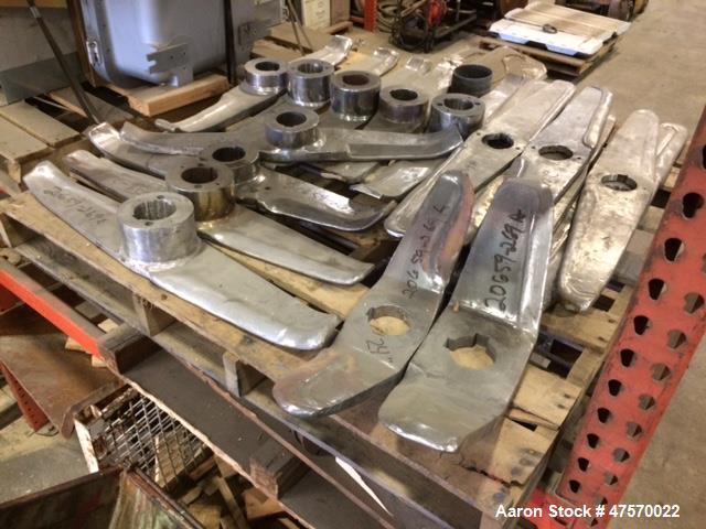 Used- Henschel 500 Liter Top Horn Tool Blade.