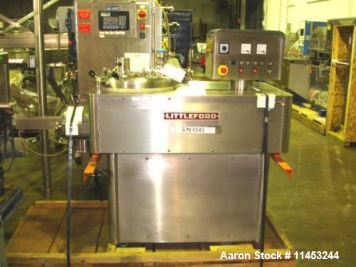 Used- Stainless Steel Littleford, Model MGT70 High Shear Granulating Mixer