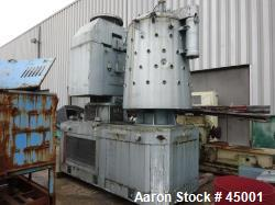 Used- Stainless Steel Pappenmeier High Intensity Mixer, Type TSAHK1500, 1500 Lit