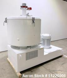 "Used- Reliance Industries 800 Liter High Intensity Mixer, Model UFM 800, 304 Stainless Steel. Approximate 48"" diameter x 32""..."