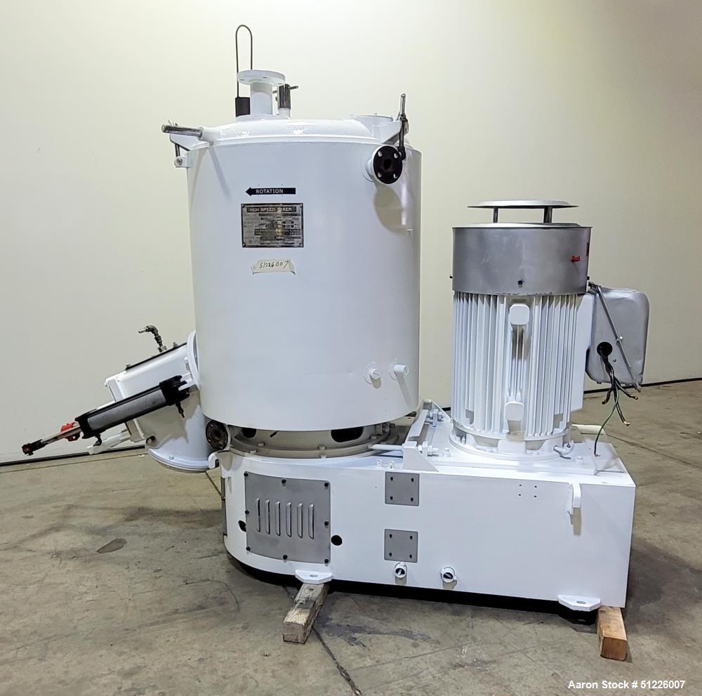 Used- Mitsui Miike 700 Liter High Intensity Mixer