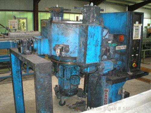 Used- Stainless Steel Mixaco CM 300 WAD mixer
