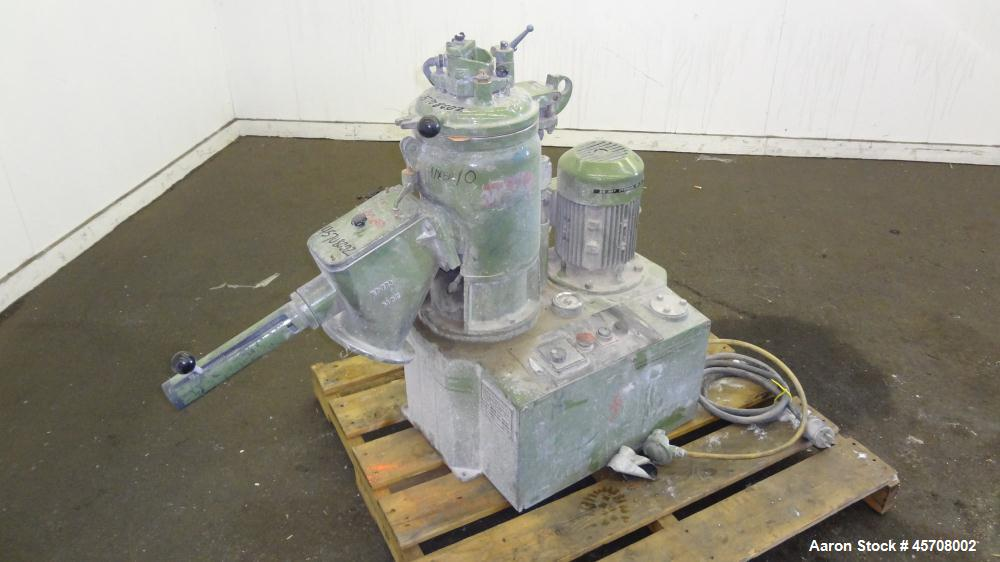 Used- Gunther Papenmeier Lab Size High Intensity Mixer, 8 Liter