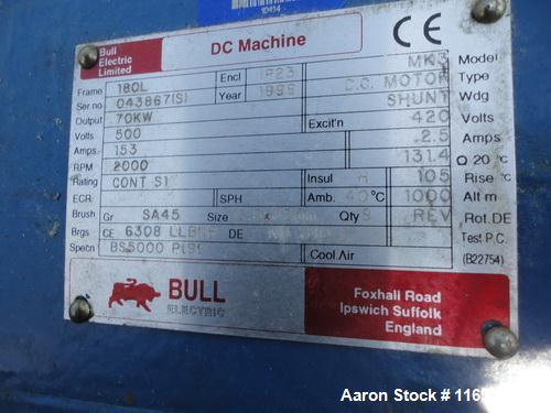 Used-TK Fielder Stainless Steel High Shear Granulator, Model PMA1200