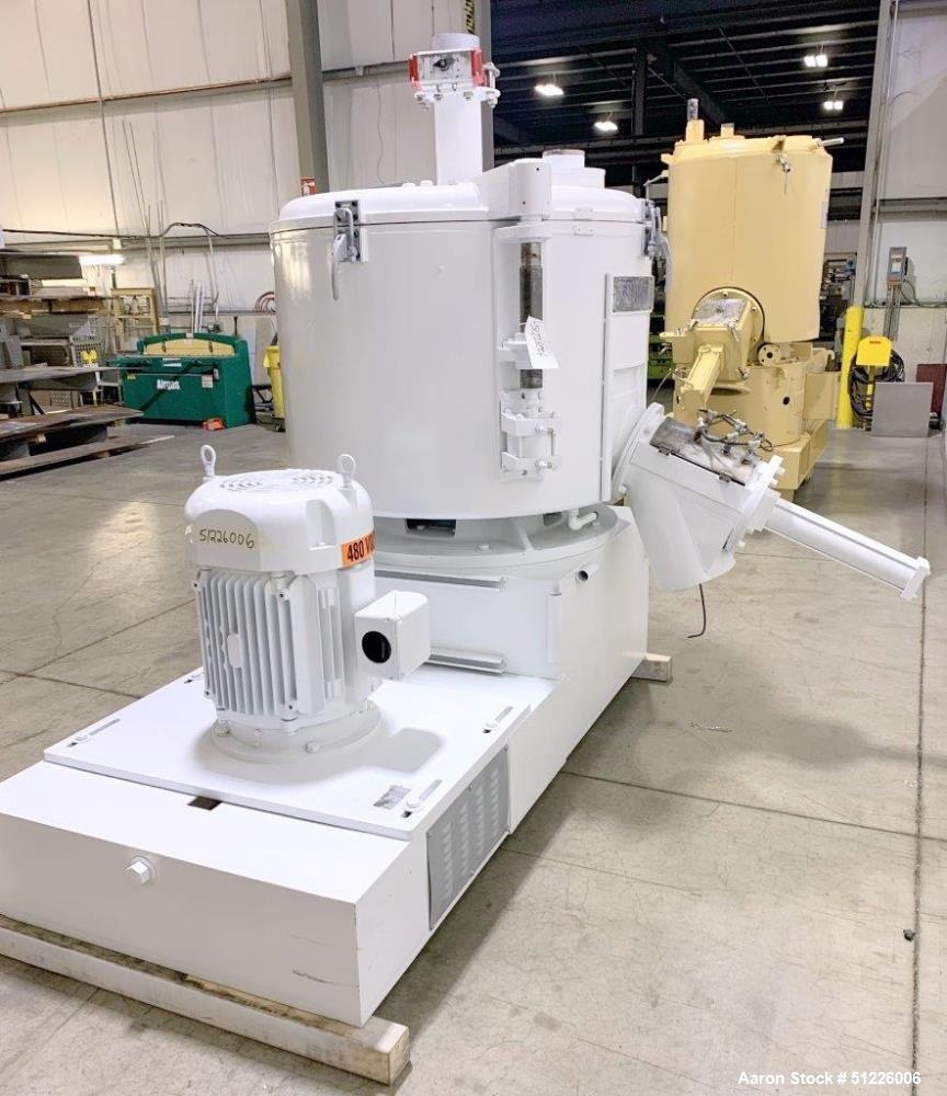 Used- Reliance Industries 800 Liter High Intensity Mixer