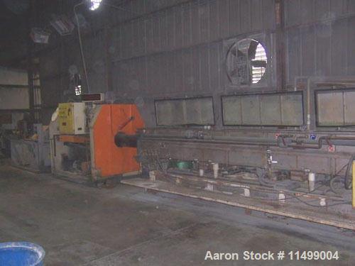 Unused-65mm/55mm Cincinnati Milacron PVC Pipe Co-Extrusion Line.