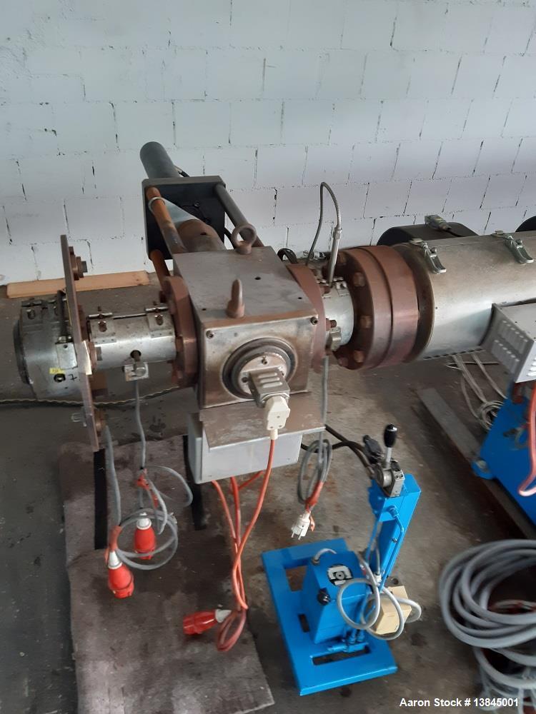 "Used- Leistriz 4.29"" (110 mm) Pelletizing Line"