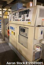 Used- 100 MM Erema Non Vented Pelletizing Line