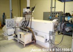 "Used- Sterling 3.5"" Single Screw Extruder"