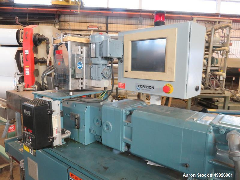 Used- Coperion Mega 26mm Co-Rotating Twin Screw Extruder, Model ZSK-26.