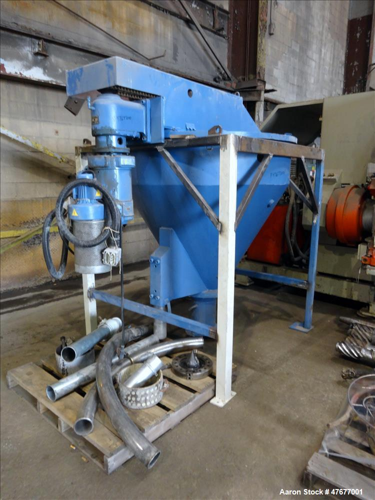 Used- Krauss Maffei K.M. 120 mm Twin Screw Extruder