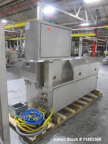 Used- Leistritz Twin Screw Pelletizing Line, Model Micro27-GGC-40D. 27 mm screws, counter rotating screws, 40:1 l/d, 500 rpm...