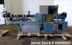 Used- Twin Screw Pelletizing Line.