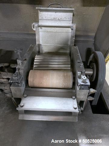 "Used- Conair Strand Pelletizer, Model T208, 8"" wide."