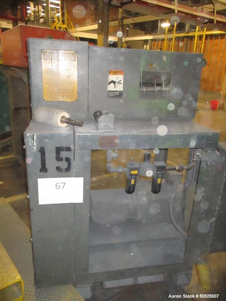 "Used- Cumberland ""Quietizer"" Strand Pelletizer, Model 241, 6""."