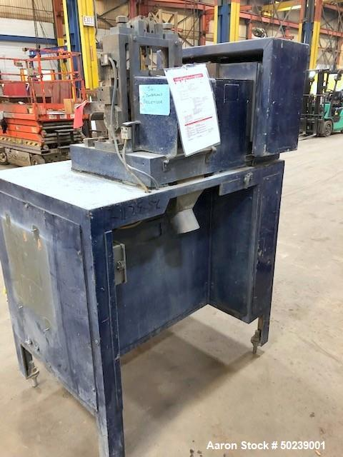 """Used- Cumberland Pelletizer, Approximate 6"""" wide."""