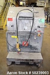 "Used- Scheer Bay Pelletizer, Approximate 12"" Wide, Model SG300L. Includes a sound deadening hood. Mounted on casters. Serial..."