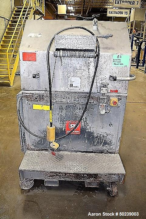 "Used- Scheer Bay Pelletizer, Approximate 12"" Wide, Model SG300L"