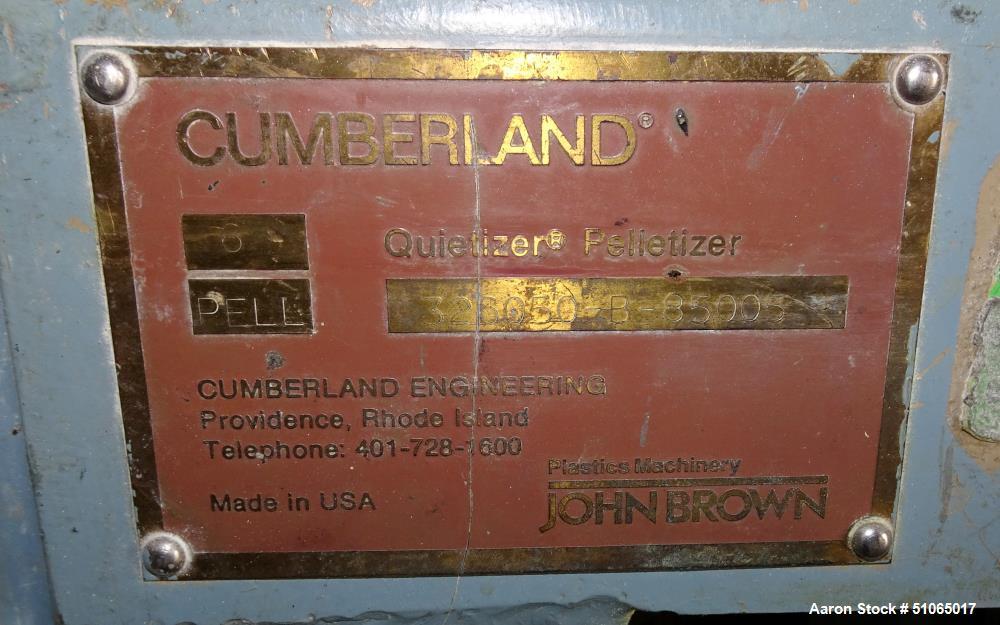 Cumberland Quietizer 6 Pelletizer
