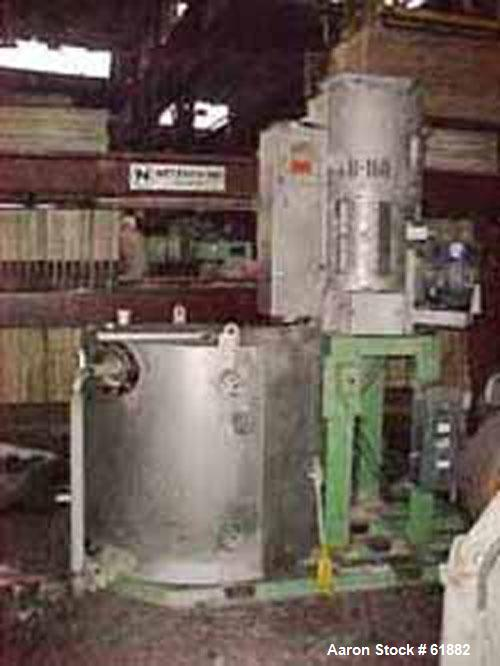 Used- Berstorff Water Ring Cutting Head, Model WRG-30