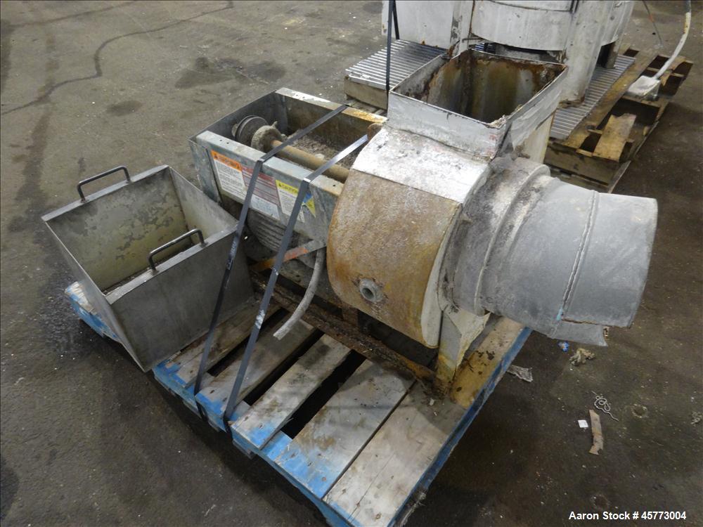 Used- Gala Model 7 Underwater Pelletizing System