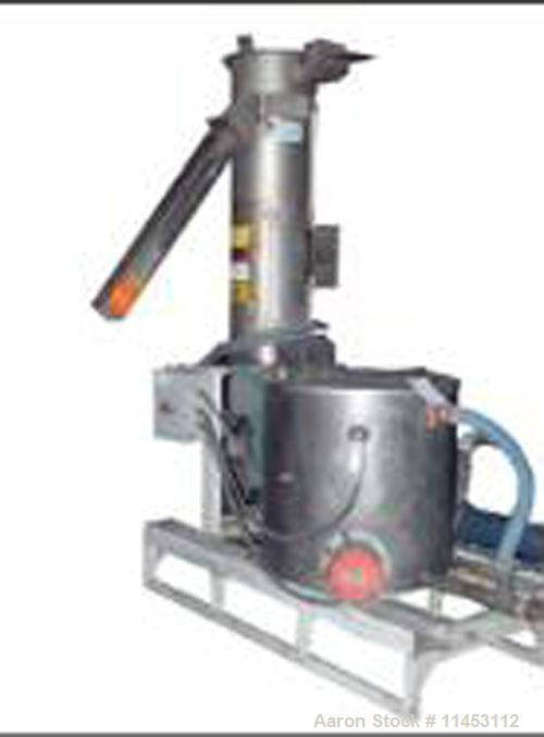Used-Gala Underwater Pelletizer, model MUP 6. With Gala tempered water system, model TWS 80, with centrifugal spin dryer, mo...